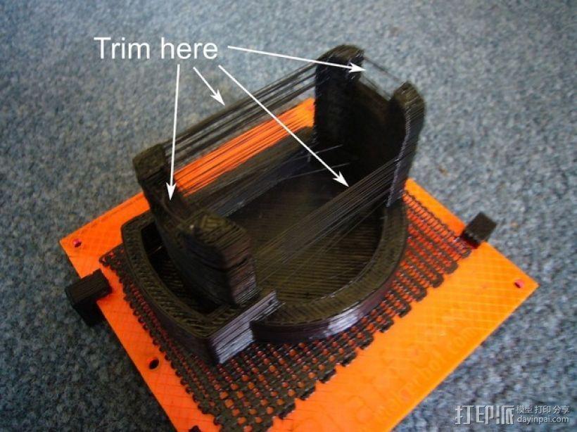 制造者扫描仪 v0.3 3D打印模型渲染图