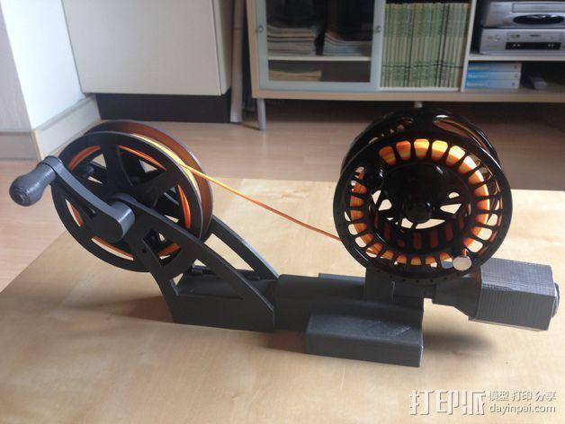 飞钓的线控制器 3D打印模型渲染图