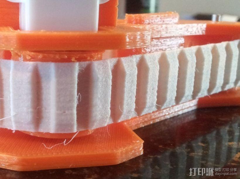 坦克履带(用于小型履带机器人) 3D打印模型渲染图