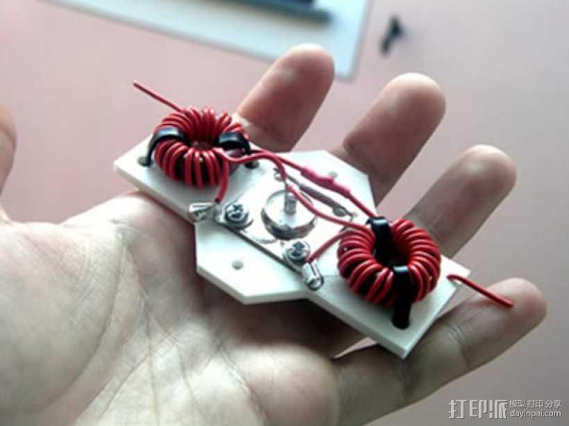 业余无线电智能触角套套 3D打印模型渲染图