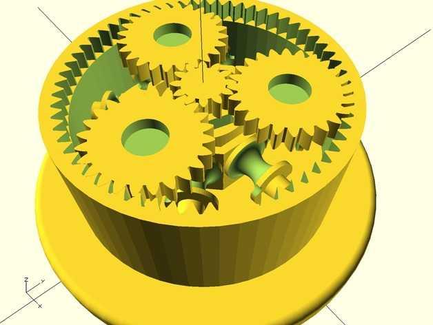 沙锤机器人 3D打印模型渲染图
