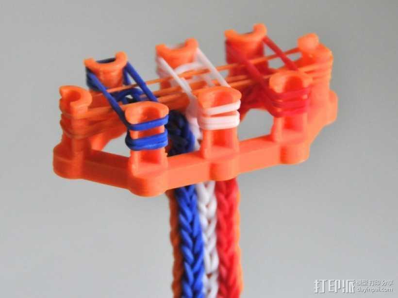 彩虹编织机 3D打印模型渲染图