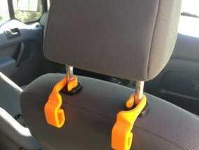汽车椅背垃圾袋固定钩