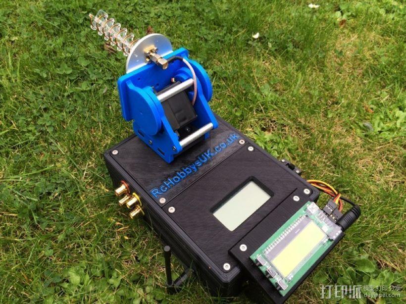 DIY Rc EZantenna 跟踪器 3D打印模型渲染图