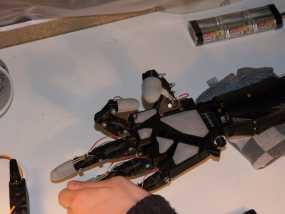 InMoov手掌垫+Arduino FSR 代码