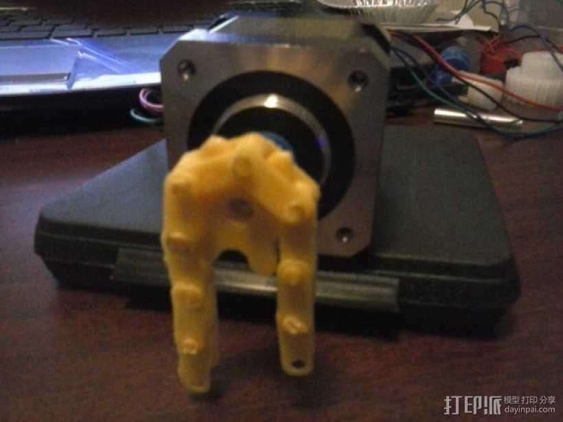 链轮和链条 3D打印模型渲染图