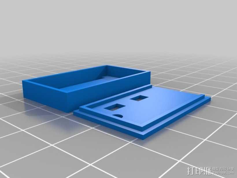 迷你盒 3D打印模型渲染图