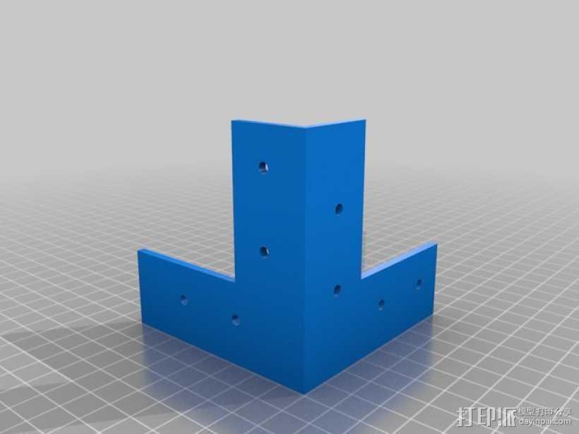 各种支架 3D打印模型渲染图