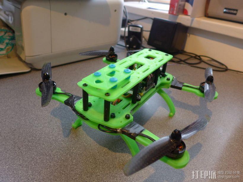 Hammer Mini H四轴飞行器 3D打印模型渲染图