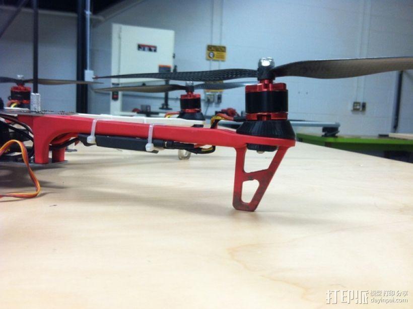 马达固定槽 3D打印模型渲染图