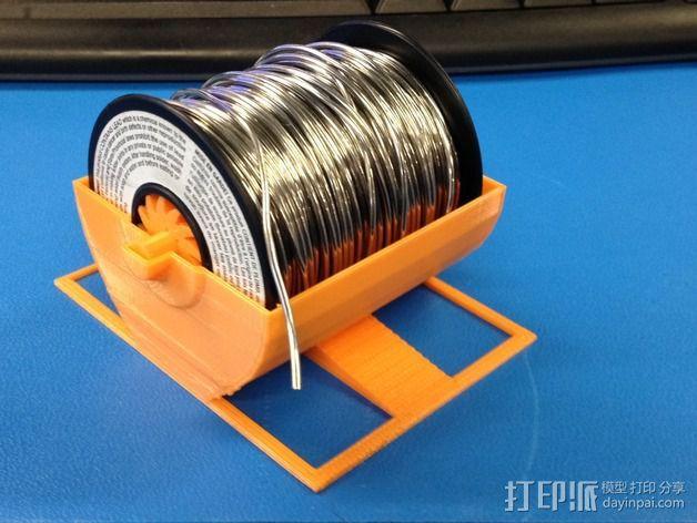 焊料轴 支架 3D打印模型渲染图