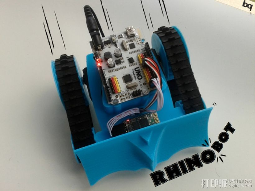PrintBot Rhino机器人 3D打印模型渲染图
