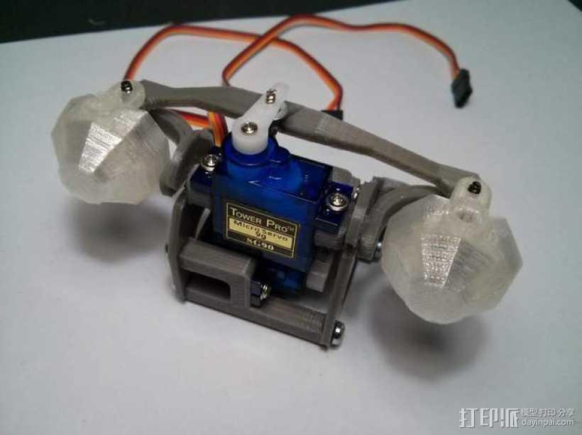 Dasaki 电子眼 3D打印模型渲染图