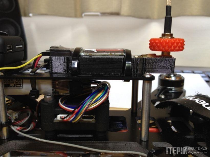 Immersion 5.8ghz 600 mW VTX固定槽 3D打印模型渲染图