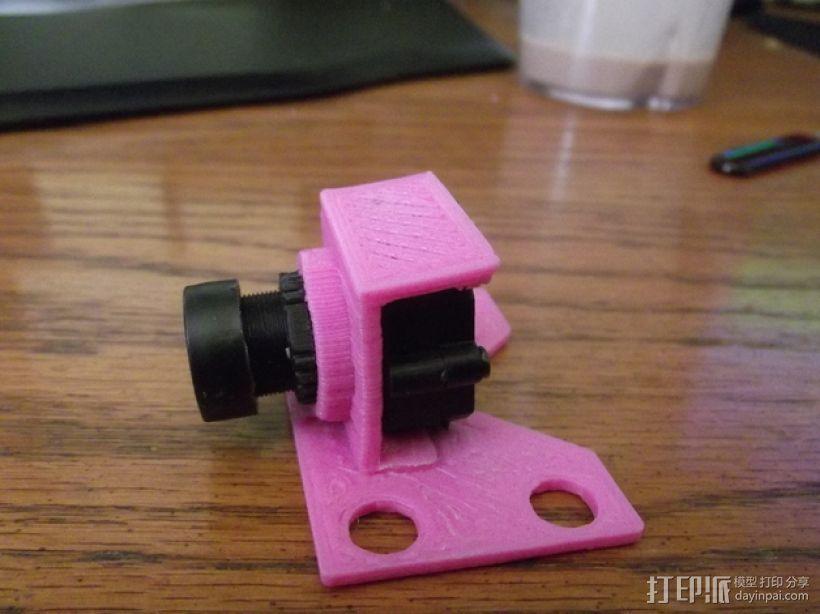 fatshark摄像机支架 3D打印模型渲染图