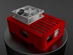 便携式树莓派电路板外壳
