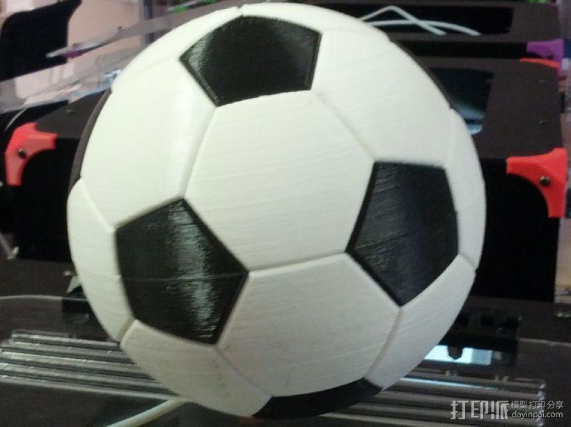 足球奖杯 3D打印模型渲染图