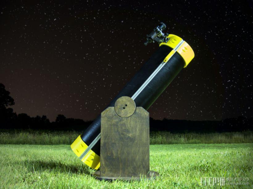 多布森望远镜 3D打印模型渲染图