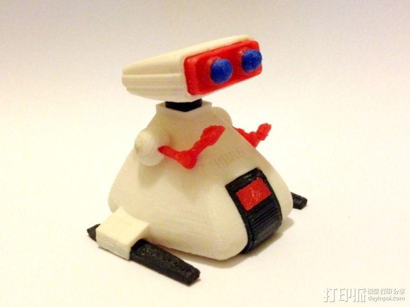 Dingbot机器人 3D打印模型渲染图