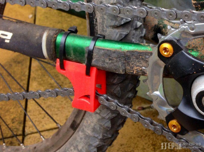 自行车链条拉紧器 3D打印模型渲染图