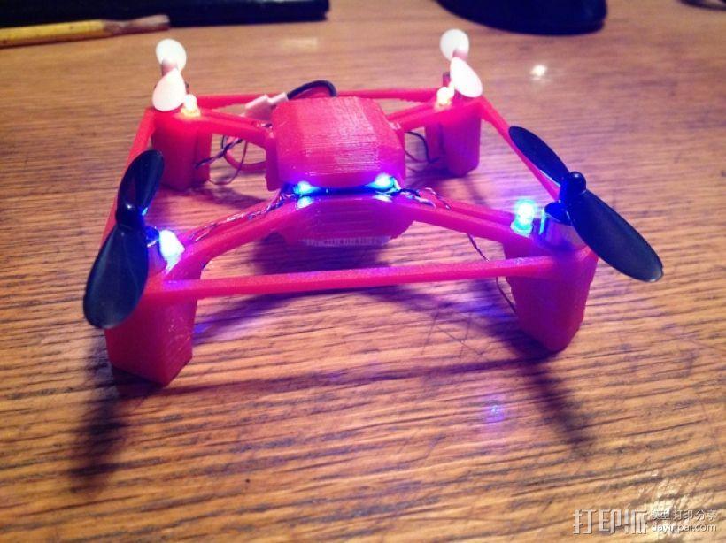航拍多轴飞行器 3D打印模型渲染图