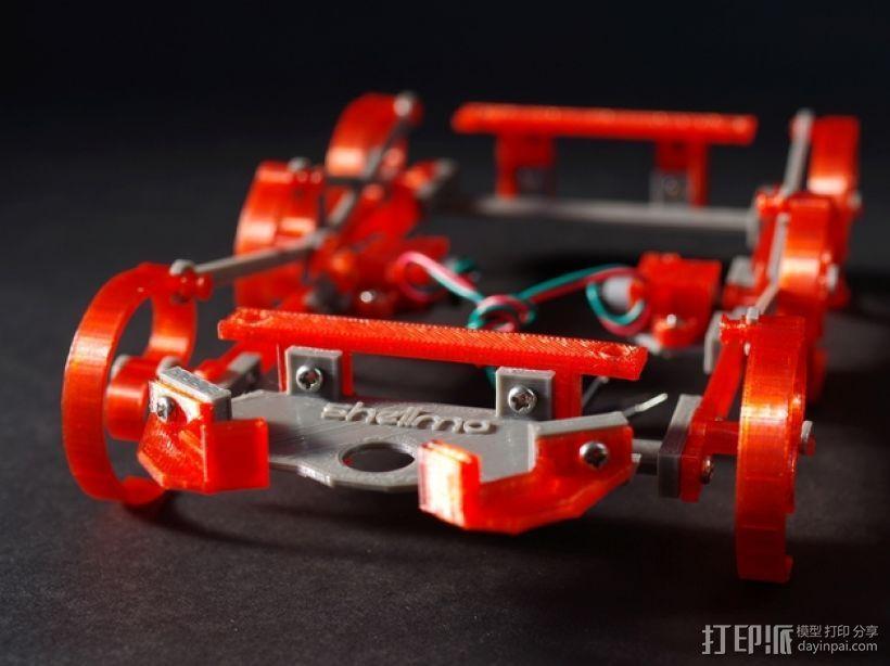 RepWalker马达模组  3D打印模型渲染图