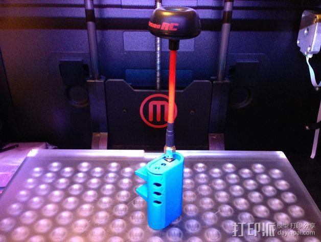 FPV 发送器支架 3D打印模型渲染图
