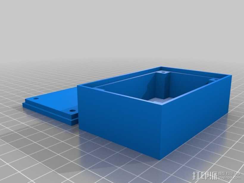 可定制收纳盒 3D打印模型渲染图
