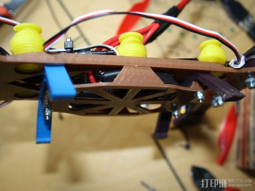 MHQ气垫船底部 3D打印模型渲染图