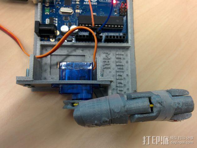 伺服适配器 3D打印模型渲染图