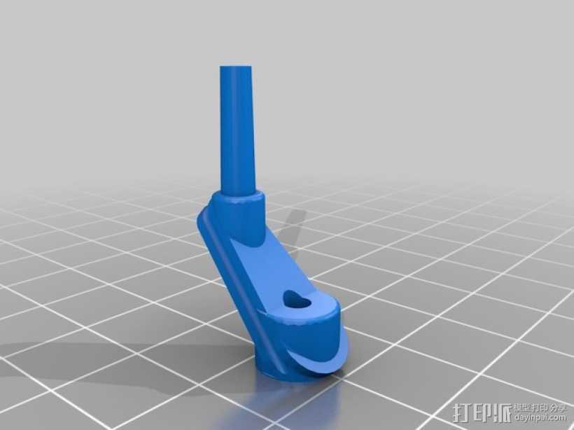 复合弓 迷你瞄准器 3D打印模型渲染图