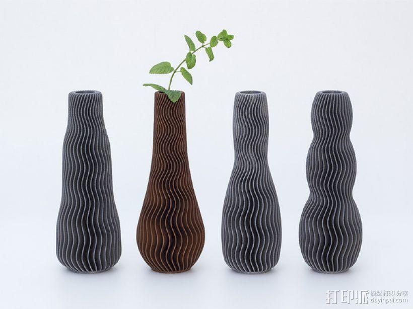 多样式花瓶 3D打印模型渲染图