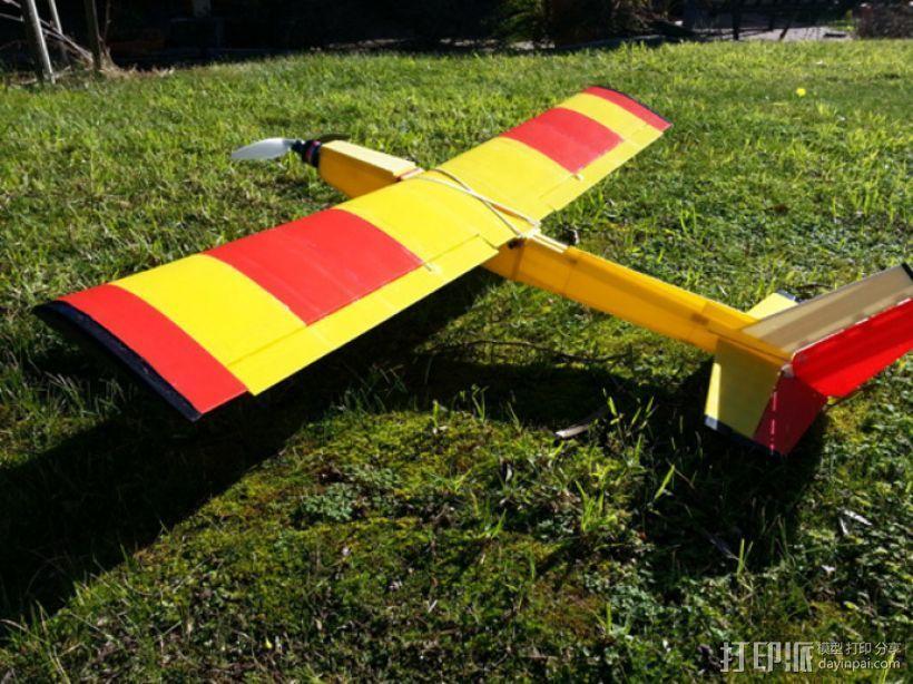 飞机 模型 3D打印模型渲染图