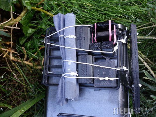 D90 Gelande越野车 行李架 3D打印模型渲染图