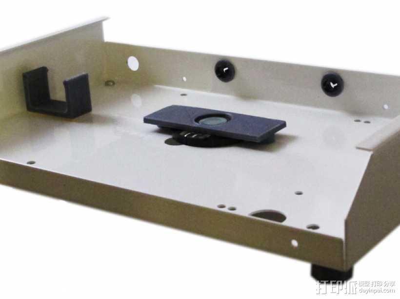 RaspiGuard 树莓派无线防盗报警系统零部件 3D打印模型渲染图