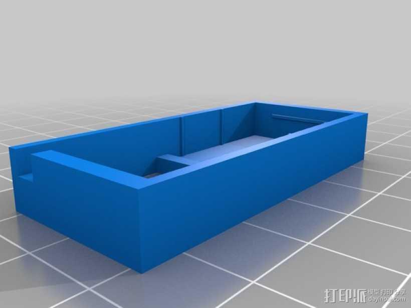SX350芯片座 3D打印模型渲染图