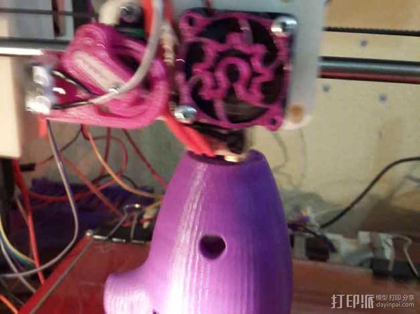 陶笛  3D打印模型渲染图