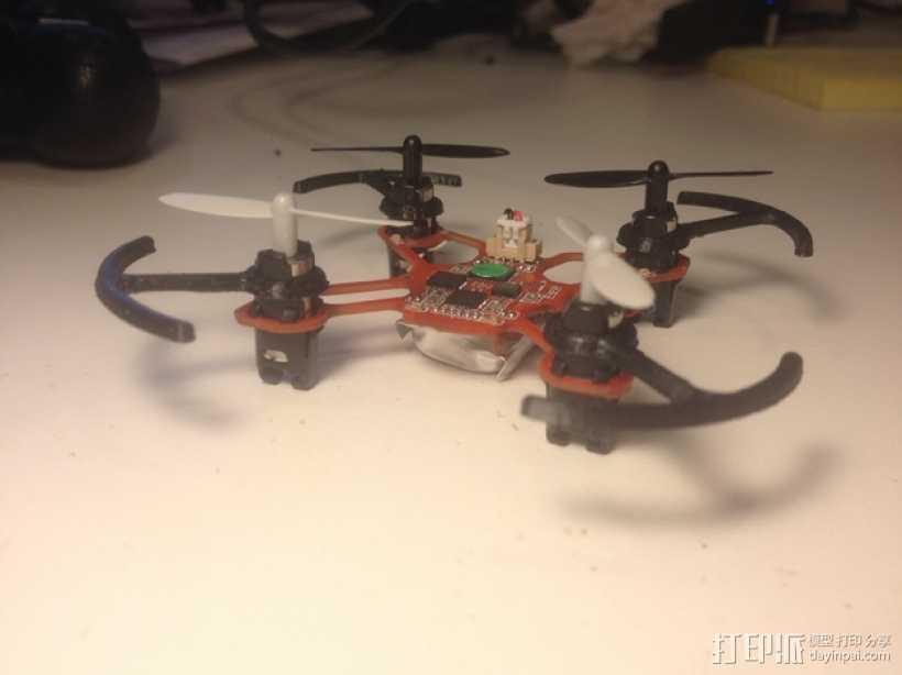 四轴飞行器螺旋桨 3D打印模型渲染图