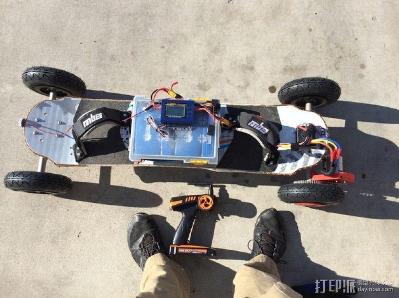 电动越野板 3D打印模型渲染图