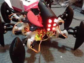防昆虫机器人Hexapod