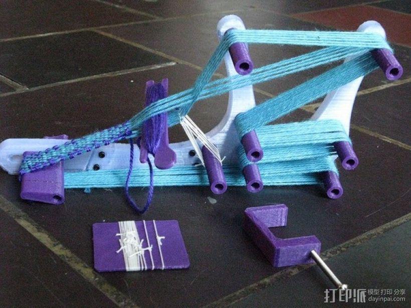迷你织带机  3D打印模型渲染图