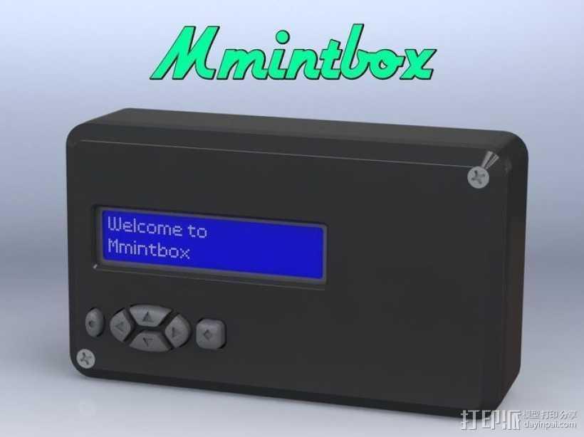 Mmintbox 1外壳 3D打印模型渲染图