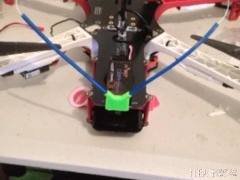 FrSky多轴飞行器天线支架 3D打印模型渲染图