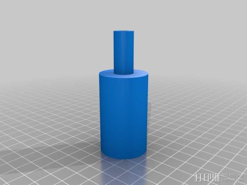 葡萄酒气锁 3D打印模型渲染图