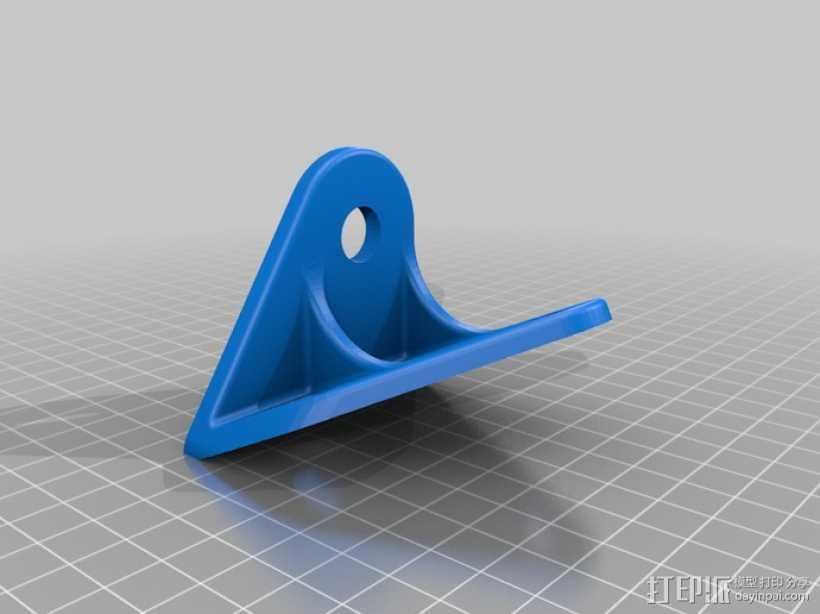 吉普车挡风玻璃雨刷支架 3D打印模型渲染图