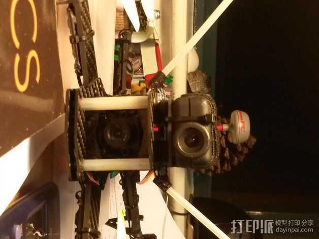 迷你天线架 3D打印模型渲染图