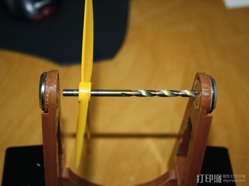 螺旋桨均衡器 3D打印模型渲染图