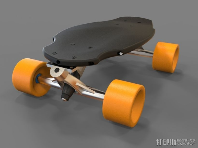 EPIC迷你长板 3D打印模型渲染图