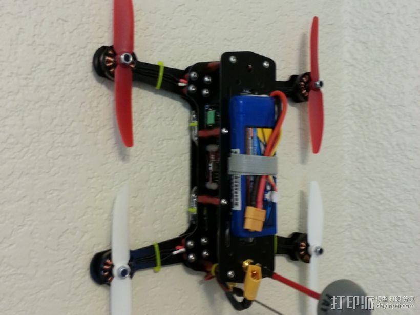 迷你四轴飞行器挂钩 3D打印模型渲染图