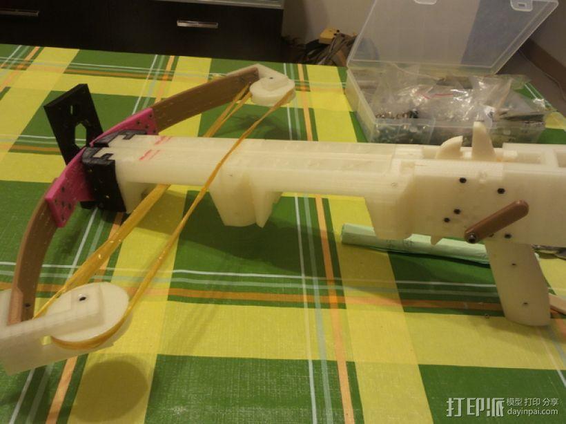 复合弩  3D打印模型渲染图